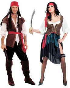 Couple De Pirate Corsaire costume