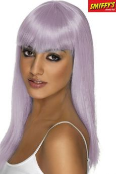 Perruque Glamoura Lilas accessoire