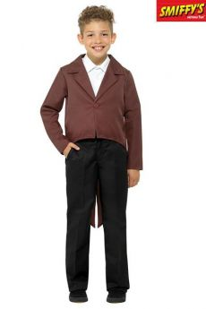Queue De Pie Marron Pour Enfant costume