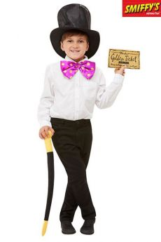 Set Enfant De Roald Dahl Willy Wonka Noir costume