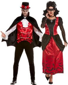 Couple Des Vampires Halloween costume