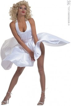 Robe Marylin Monroe costume