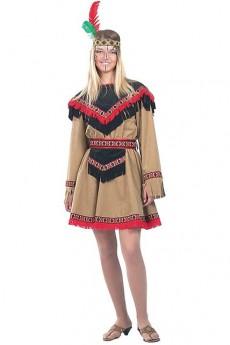 deguisement indienne kiowa 38 40 deguisement adulte femme le. Black Bedroom Furniture Sets. Home Design Ideas