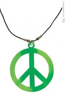 collier peace love fluo accessoires bracelets et colliers le. Black Bedroom Furniture Sets. Home Design Ideas