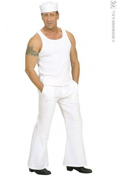 Tee Shirt Mixte Blanc costume