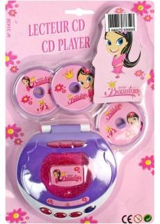 lecteur cd mini beauty kermesse jouets fille le. Black Bedroom Furniture Sets. Home Design Ideas