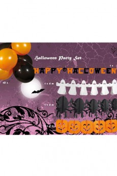 kit d co vitrine halloween d corations halloween le. Black Bedroom Furniture Sets. Home Design Ideas