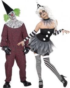 couple cirque sinistre deguisement adulte en couple le. Black Bedroom Furniture Sets. Home Design Ideas