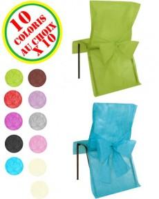 Housses chaises articles de f te vaisselles jetables le - Housses chaises jetables ...