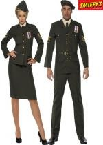 Couple Wartime Officier