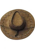 Cowboy Adulte Texas Coutures Marron