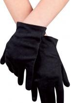 Gants Polyester Adulte Noirs