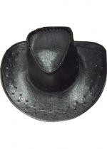 Cow Boy Croco Noir