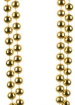 Collier Double Rangée Perles Or