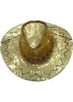 Cow Boy Paillettes Or