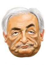 Masque Dominique Strauss-Kahn