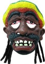 Masque Rasta Bonnet Et Dread Locks