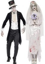 Couple Zombie Mariage