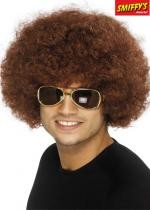Perruque Funky Brune Afro