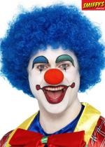 Perruque Clown Bleue