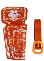 Ceinturon Holster Marron