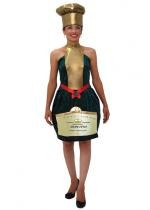 Costume Bouteille Champagne