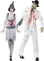 Couple Gangster Cabaret Zombie