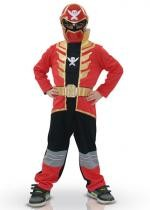 Déguisement Power Ranger Rouge Mega Force