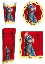 Set De Vaisselle Jetable Disney Ratatouille