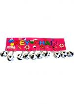 Lot De 12 Porte Clefs Ballon De Foot