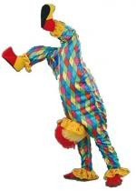 Mascotte Clown A L'Envers