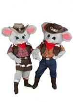 Mascotte Souris Country