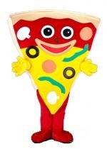Mascotte Part De Pizza
