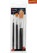 Set De 3 Pinceaux A Maquillage