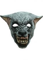 Masque Loup Terrifiant En Latex Adulte