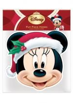Masque Adulte En Carton Disney Christmas Minnie
