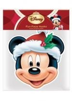 Masque Adulte En Carton Disney Christmas Mickey