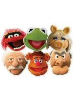 6 Masques Différents Perso The Muppet Show
