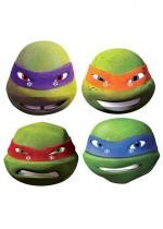 4 Masques Carton Adulte Tortue Ninja