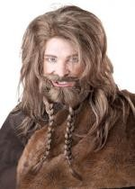 Perruque Viking, Barbe Et Moustache