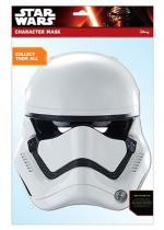 Masque Adulte En Carton Star Wars Stormtrooper