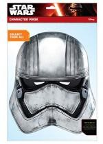 Masque Adulte En Carton Star Wars Captain Phasma