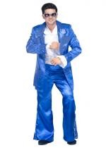 Costume King Disco Bleu