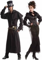 Couple Victorien Steampunk