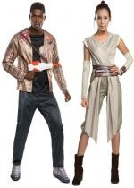 Couple Star Wars Finn et Rey