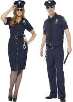 Couple Policier New York Grande Taille