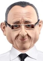 Masque François Hollande Integral Latex