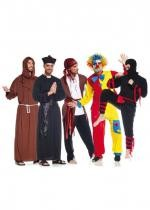 Assortiment De 16 Costumes Carnaval Homme