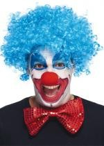 Perruque Du Clown Bleue