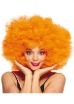 Perruque Super Afro Orange